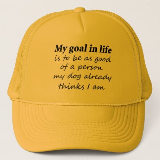 Joke dog quotes gifts sayings novelty trucker hats