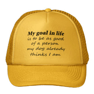 Joke dog quotes gifts sayings novelty trucker hats