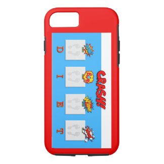 Joke on crash diets illustrations on phone case