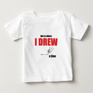 joke taking too far drawing line memes please stop baby T-Shirt