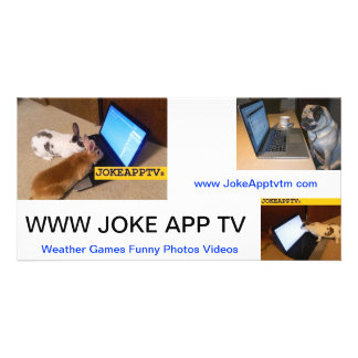 JokeApp Note Card Picture Card