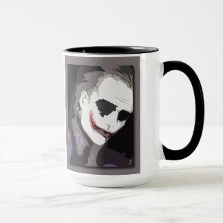 Joker card mug