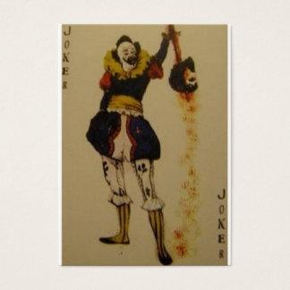 joker cards3 business card