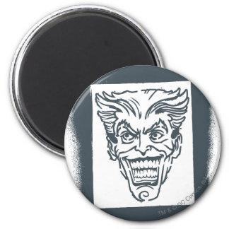 Joker de peinture de jet magnet rond 8 cm