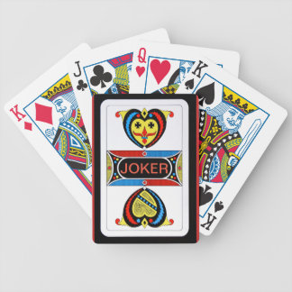 Joker Design Bicycle Playing Cards