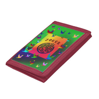 Joker Dreams Nylon Wallet