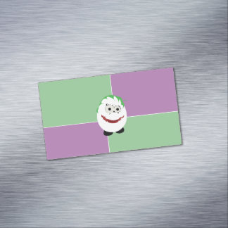 Joker Egg Magnetic Business Cards