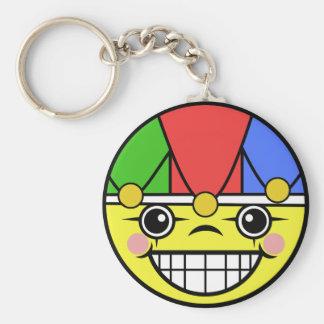 Joker Face Keychain