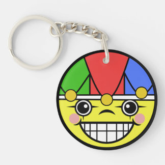 Joker Face Keychain
