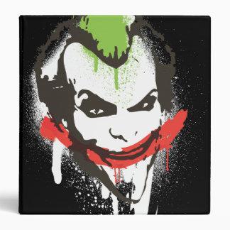 Joker Graffiti Vinyl Binders