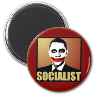 Joker Obama 2 Inch Round Magnet