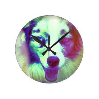 Joker Round Clock