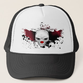 joker skull trucker hat