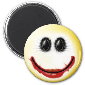 Joker Smiley Face Magnet