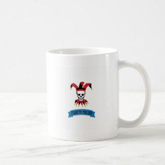 joker to the end funny coffee mug