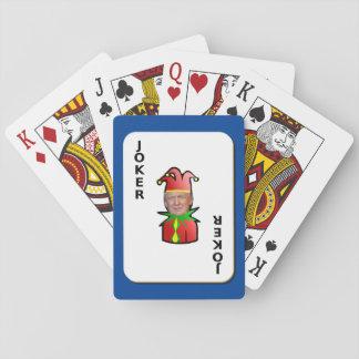Joker Trump Playing Cards
