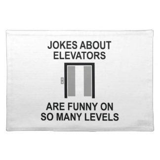 Jokes About Elevators Placemat