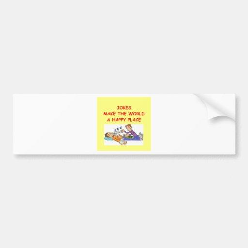 jokes bumper stickers