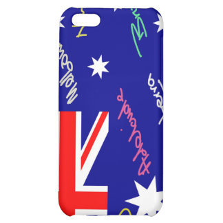 Jokey Australian Flag iPhone 5C Cases