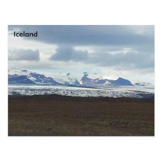 Jökulsárlón glacial lagoon, South East Iceland Postcard