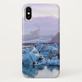 Jökulsárlón Glacier Lagoon case for iPhone X.