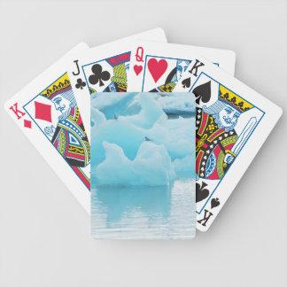 Jökulsárlón terns bicycle playing cards