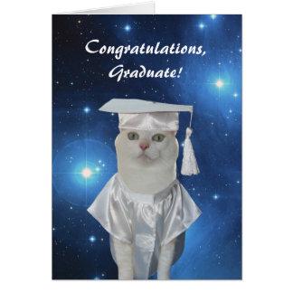 Jolie obtention du diplôme personnalisable de carte de vœux