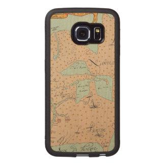 JOLLIET: NORTH AMERICA 1674 WOOD PHONE CASE