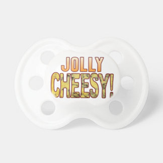 Jolly Blue Cheesy Pacifier