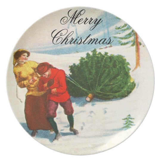Jolly Christmas Plate