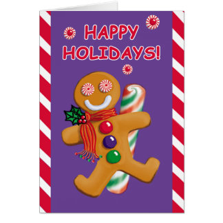 JOLLY GINGERBREAD Custom Card