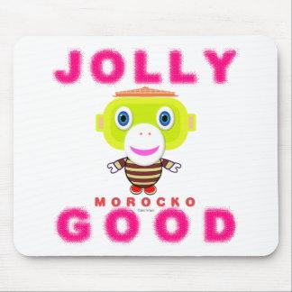 Jolly Good-Cute Monkey-Morocko Mouse Pad