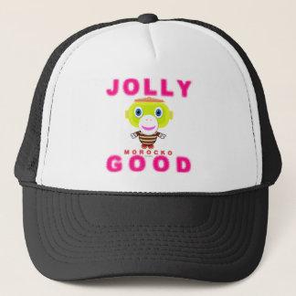 Jolly Good-Cute Monkey-Morocko Trucker Hat