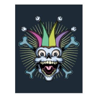 Jolly Jester Postcard