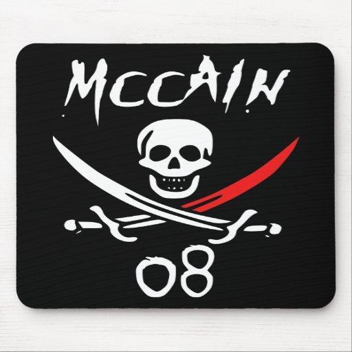 Jolly McCAIN 08 {Blood Tip} Mouse Mat