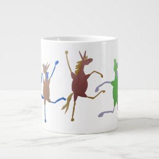 Jolly Molly Mule Large Coffee Mug