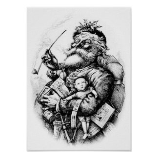 Jolly Old Saint Nick Poster