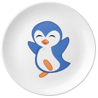 Jolly Penguin Plate