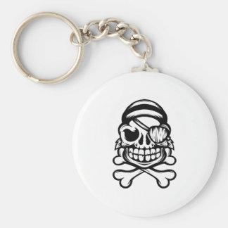 Jolly Pirate Keychain