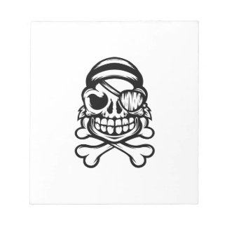 Jolly Pirate Notepad