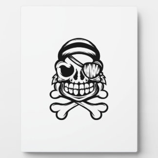 Jolly Pirate Plaque