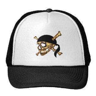 Jolly Roger #1-Burnt Trucker Hat