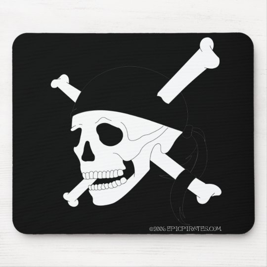 Jolly Roger #1 Mouse Pad
