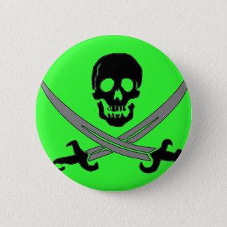 Jolly Roger 2 Inch Round Button