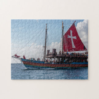 Jolly Roger Barbados. Jigsaw Puzzle