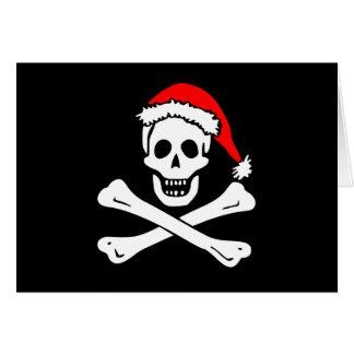 Jolly Roger Holiday Greeting Card