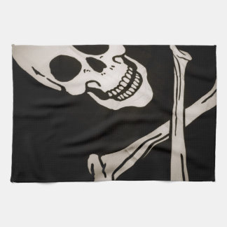 """Jolly Roger Pirate Cloth Flag 16"""" x 24"""""""
