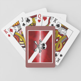 jolly roger pirate deck of cards