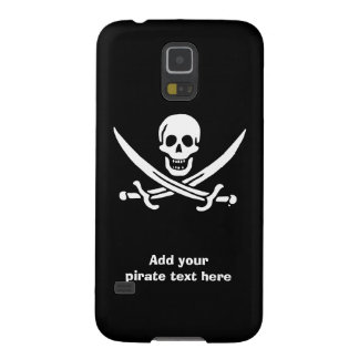 Jolly roger pirate flag case for galaxy s5