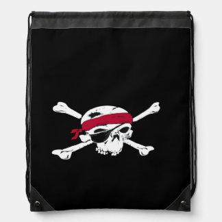 Jolly Roger Pirate Skull Backpack